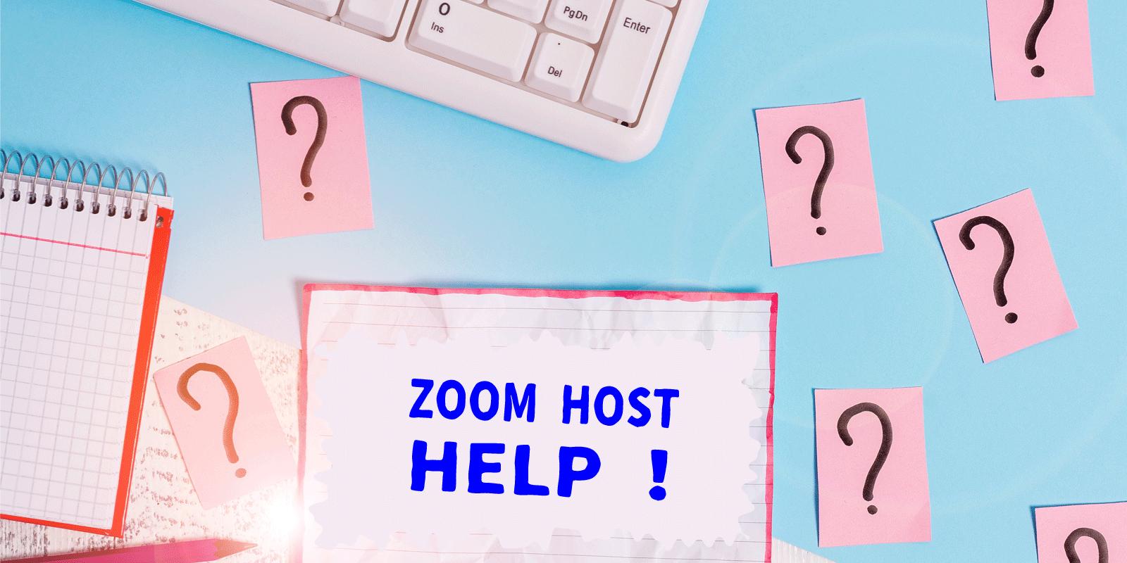 zoom会場サポート
