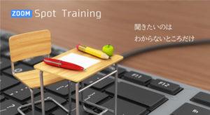 zoomスポットトレーニング